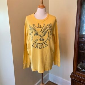 American Eagle vintage fit thermal tee
